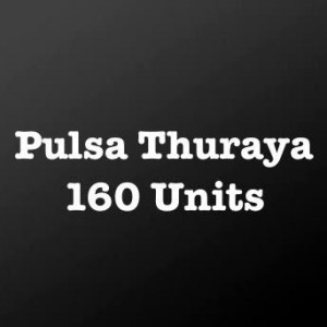 Pulsa Thuraya 160 Units