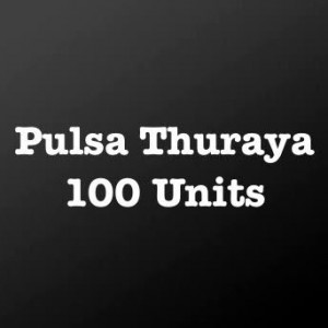 Pulsa Thuraya 100 Units
