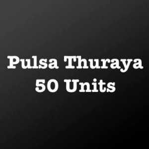 Pulsa Thuraya 50 Units